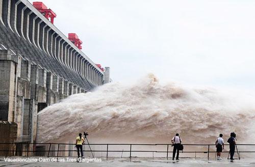 Viajes Rio Yangtse Dam de Tres Gargantas