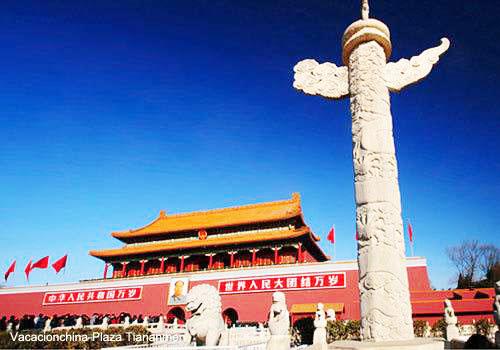 Viajes Beijing Plaza Tiananmen