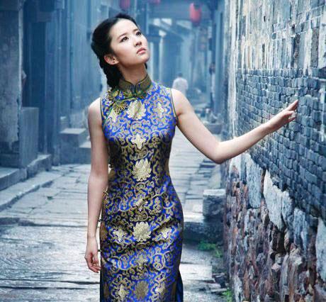 Qipao China Viaje Vestido Modelo China Ornamentos