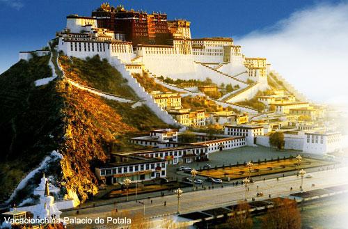 Viajar Tibet Palacio de Potala