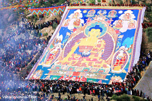 Viajar por Tibet Monasterio Drepung