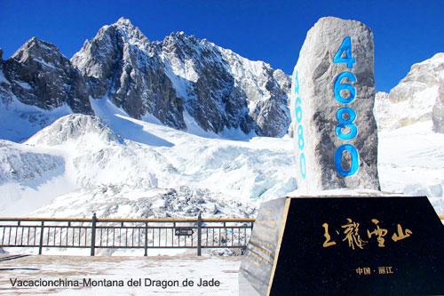 Viajes Lijiang Montana del Dragon de Jade