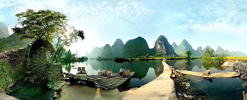 viagem através de Guilin